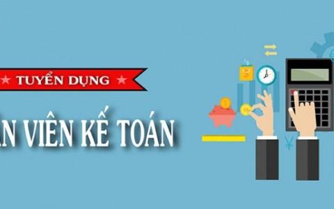 (Tiếng Việt) TUYỂN DỤNG 07.2018 – CHUYÊN VIÊN KẾ TOÁN