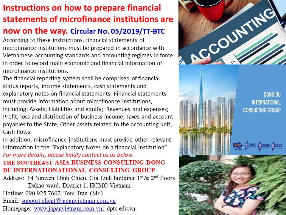 instructions on how to prepare financial statements of
