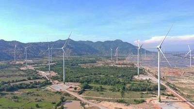 Đã có 819 MW điện gió được đưa vào vận hành thương mại